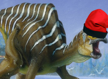 Dinosaures amb barretina