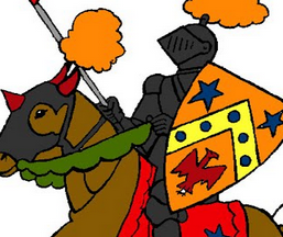 Becoming a knight in Middle ages